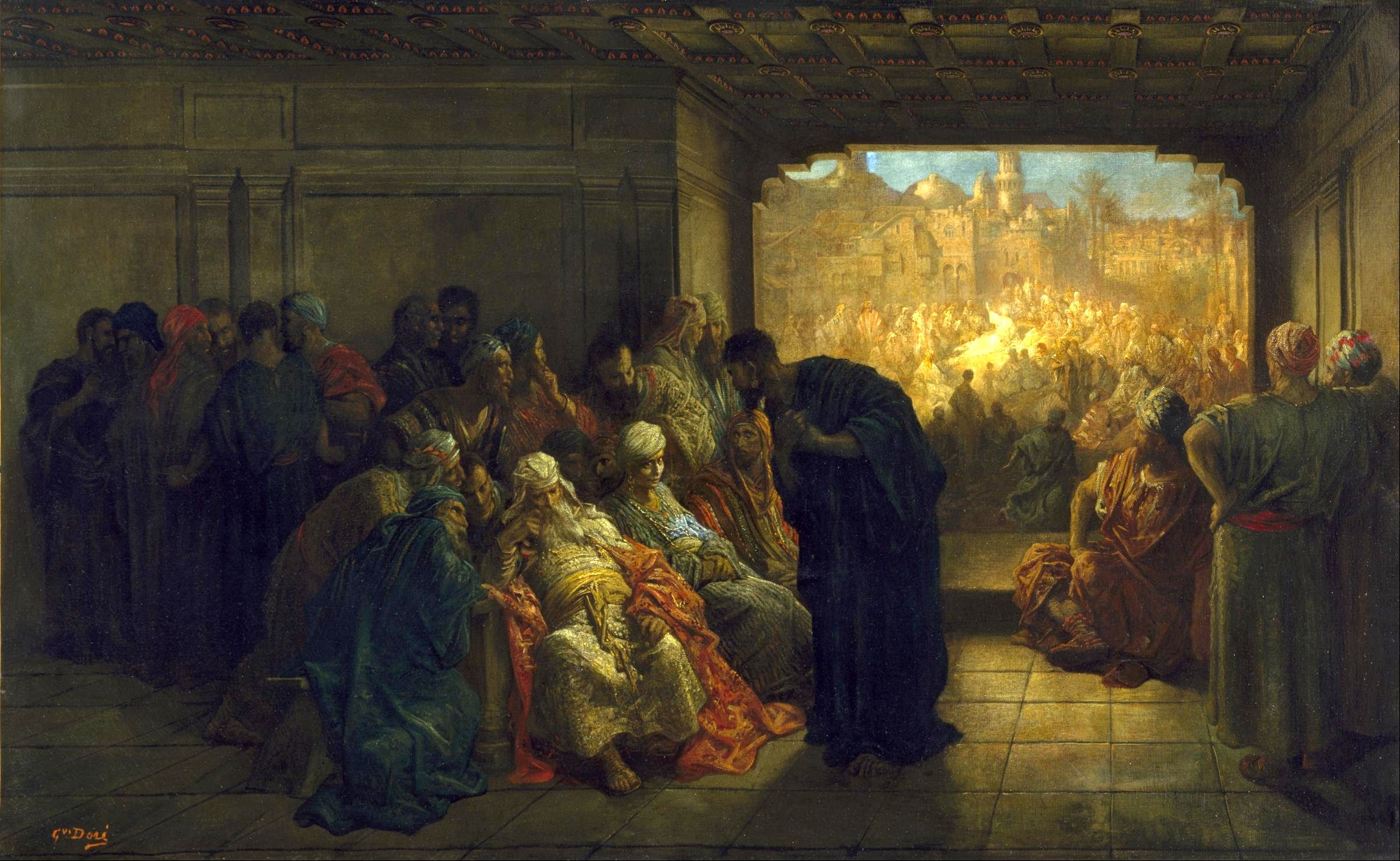 Gustave_Doré_-_The_House_of_Caiaphas_-_Google_Art_Project02