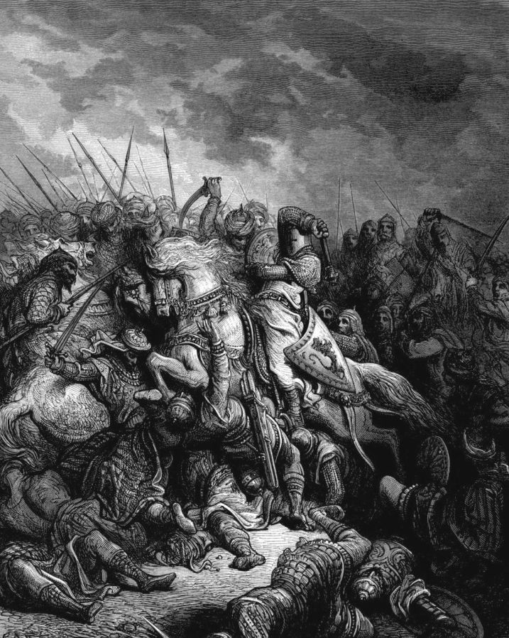 gustave_dore_crusades_richard_and_saladin_at_the_battle_of_arsuf