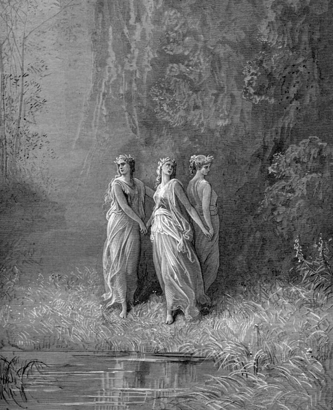 gustave_dore_dante_charity_hope_and_faith