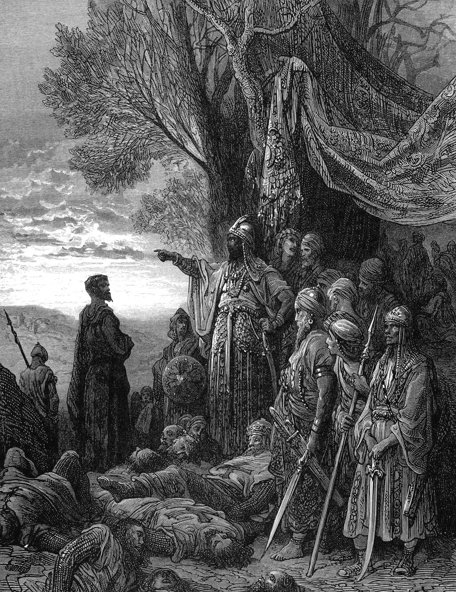 gustave_dore_crusades_ilghazy_gives_gauthier_his_life